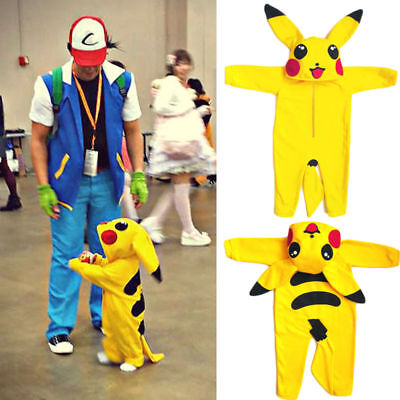 Halloween Toddler Infant Baby Boy Girl Pikachu Outfit Jumpsuit Rompers Playsuit