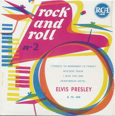 """ELVIS PRESLEY CD France  RCA A 75.309 """"Rock and Roll No.2"""" great und rare"""