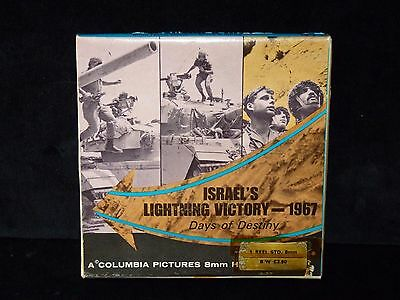 Israel's Lightning Victory 1967 Days Of Destiny. Columbia Pictures. Capitol Film