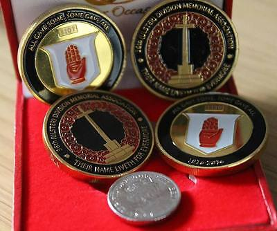 36th (Ulster) Division Memorial Association Battle of the Somme Coin