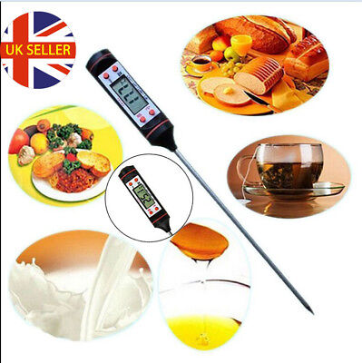 Instant Digital Read Food Probe Kitchen Cooking Meat BBQ Thermometer Temperature