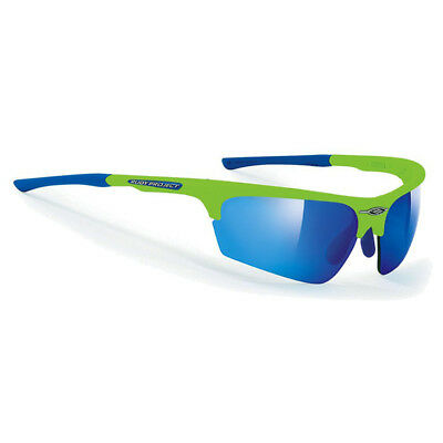 Rudy Project Glasses Noyz, Green Fluo/Multilaser Blue