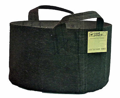 10 Root Pouch black handles (246L) Geotextile Smart grow Pot deco container