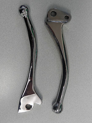 Vespa Px Disc Custom Quality Chrome Clutch / Brake Levers Px Disc Lml