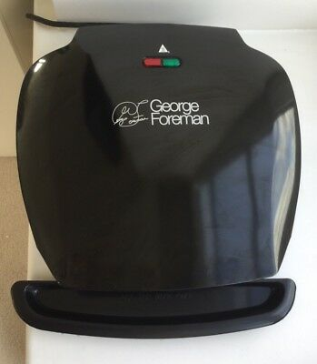 New George Foreman Fat Reducing Compact Grill 2 Portion Never Used