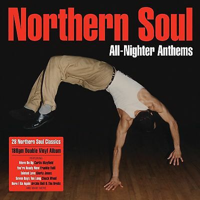 Northen Soul - All-Nighter Anthems 2x 180g vinyl LP IN STOCK NEW/SEALED