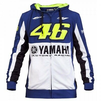 2017 NEW MotoGP Valentino Rossi VR46 Adult Hoodie Jacket For Yamaha M1 Racing