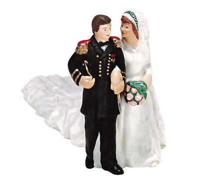 Dept 56 Here Comes The Bride - The Sound of Music - Alpine Village 56.56300