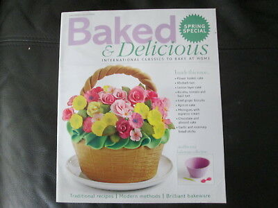 Eaglemoss Baked & Delicious Cake Making & Baking Magazine Spring Special