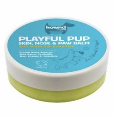 Hownd Playful Pup Natural Dog Skin Nose and Paw Balm 50g fast Free POst