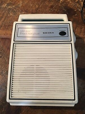 Shira Solid State 8 Track Tape Player