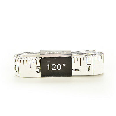 New 120 Inch Soft Tape Measure Sewing Tailor Ruler With Centimeters Scale F9P