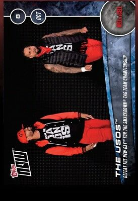 Topps WWE Slam Digital- Hell In A Cell Topps Now The Usos