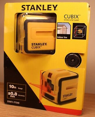Stanley STHT1-77340 Cubix Self Levelling CROSS LINE LASER Level VGC