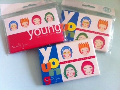 "100 sheets Young Facial Oil Control Blotting Paper  ""UK Seller & Free Post"""