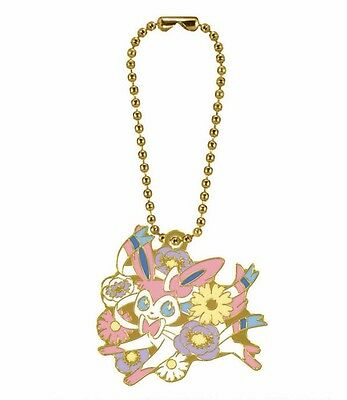 Pokemon Eevee & Flowers Lottery 2017 Design Charm Sylveon from Japan