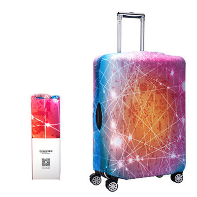 """Starry Sky Elastic Travel Luggage Suitcase Cover Dust-proof Protector Bag 18-32"""""""