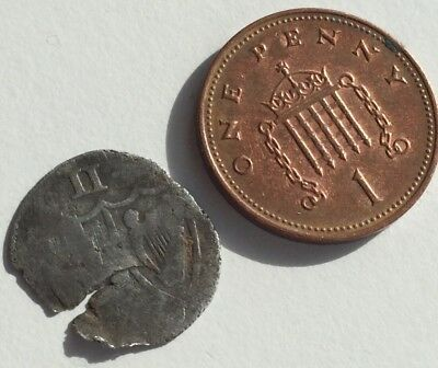 Metal detecting find... Commonwealth Hammered Coin (possibly Halfgroat)