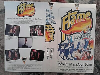 slade in flame vhs video cover. rare