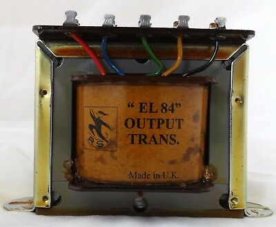 Replacement Radiospares RS EL84 Output Transformer EXACT windings & appearance
