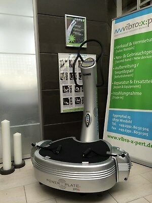 AKTION: Vibrationstrainer Power Plate 2012,netto 3.800€ silber nur bis 20.10.17