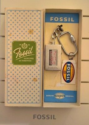Fossil Digital Watch Key Ring