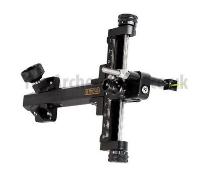 New Cartel Archery Midas Compound Bow Carbon Sight (Right or Left Hand)