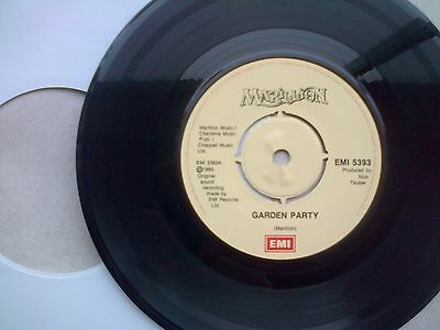Marillion - Garden Party - Vinyl Single