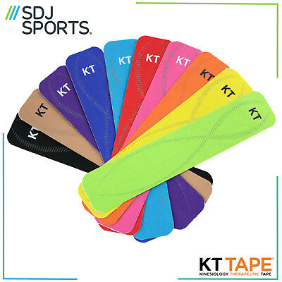 Kt Kinesiology Tape Pro 10 Inch Strip For Muscle And Ligament Pain