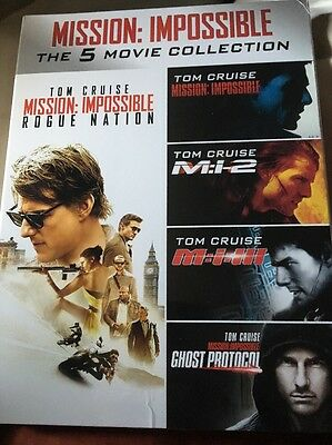 Mission Impossible The 5 Movie Collection