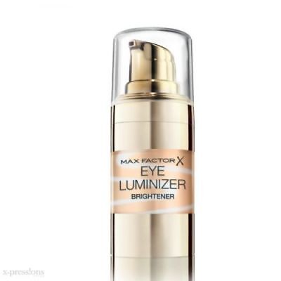 2 x Max Factor Eye Luminizer Brightener 15ml New & Sealed - Choose From 5 Shades