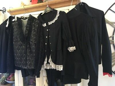 Victorian/Edwardian And Period Blouses - Ex Theatrical Hire Used