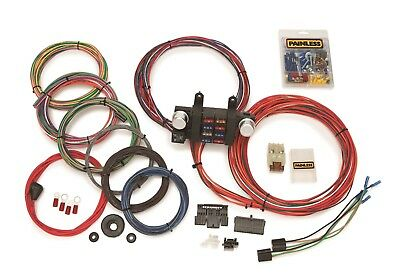 Painless Wiring 10307 18 Circuit Basic Customizable Chassis Harness
