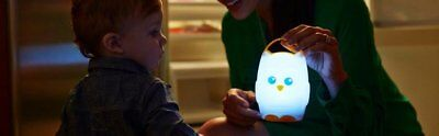 Battery-operated owl Nightlight Lamp for kids baby bedroom 110 hours batterylife