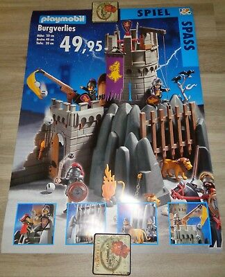 """Rare 2-sided Shop Window Poster """"Spiel & Spass"""" from the 4063 exclusive set"""