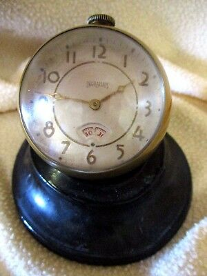 Clock Ingraham Desk Clock 1940's 30-hr.