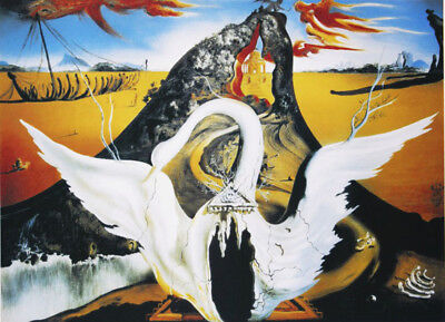 SALVADOR DALI  - Bachanale . Signed and numbered. 65 x 50 cm