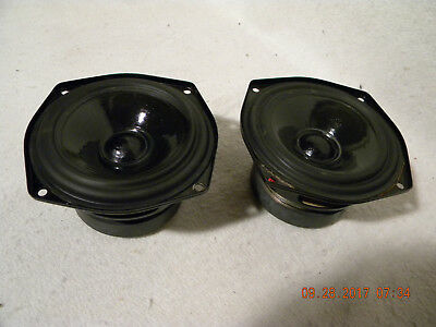 Kef Model Sp1003 Woofer Pair For Parts Or Repair - Ls3/5A -