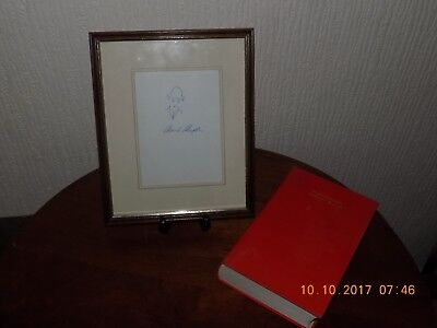 Charlie Chaplin My Autobiography First Edition With Framed Autograph ?