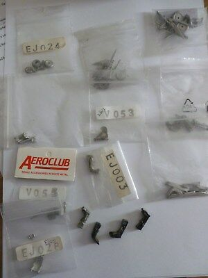 Aeroclub & Others White Metal Accessories For Model Kits 1:72