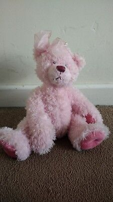 Jilly Bear Riley Pink Russ Teddy Toy - Collectable