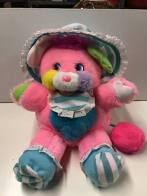 Cribsy Popple Pink Baby 80s Vintage Blue