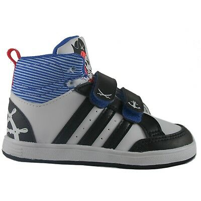 80172ebd32c93 ADIDAS HOOPS CMS MID INF BIANCO Sneakers Scarpe Alte Bambino Palestra GC5737