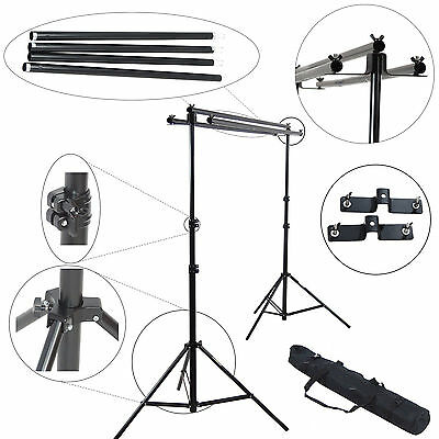 Studio Photo Video Backdrop Background Triple Support DynaSun FS931 w Anti-Shock
