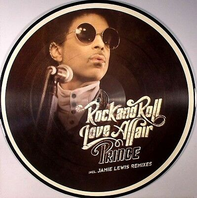 """PRINCE - Rock and Roll Love Affair - 12"""" Picture Disc RARE!!!"""