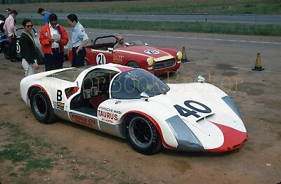 Original 1970 35mm slide. SCCA VIR Greg Loomis Porsche 906 E #157