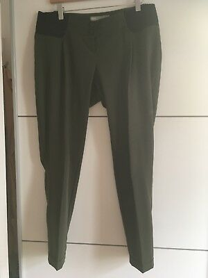 Maternity Under Bump Smart Trousers Size 12 (Asos)