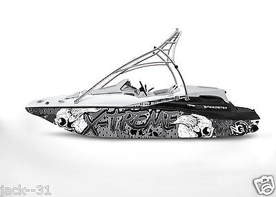 Ng Graphic Kit Decal Boat Sportster Sea Doo Speedster Sport Wrap Skull X-Treme