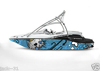 Ng Graphic Kit Decal Boat Sportster Sea Doo Speedster Sport Wrap Beware Cat