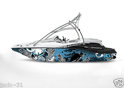 Ng Graphic Kit Decal Boat Sportster Sea Doo Speedster Sport Wrap Winged Demon